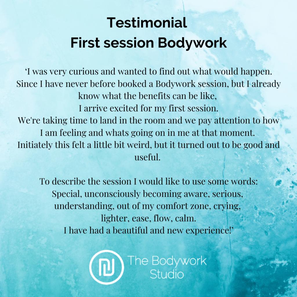 Testimonial Review Bodywork Touch&Awareness Berkel en Rodenrijs Rotterdam Den Haag Bodywork Touch & Awareness Massage Relax Stress Burnout Breathwork